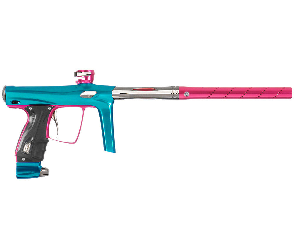 SP Shocker RSX Paintball Gun - Teal/Pink/T-800