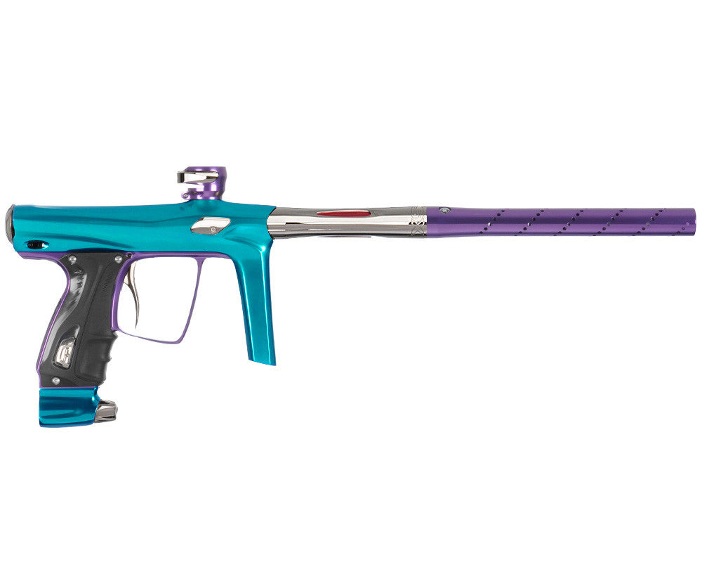 SP Shocker RSX Paintball Gun - Teal/Purple/T-800