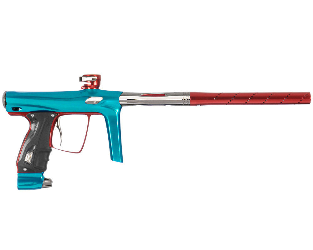 SP Shocker RSX Paintball Gun - Teal/Red/T-800