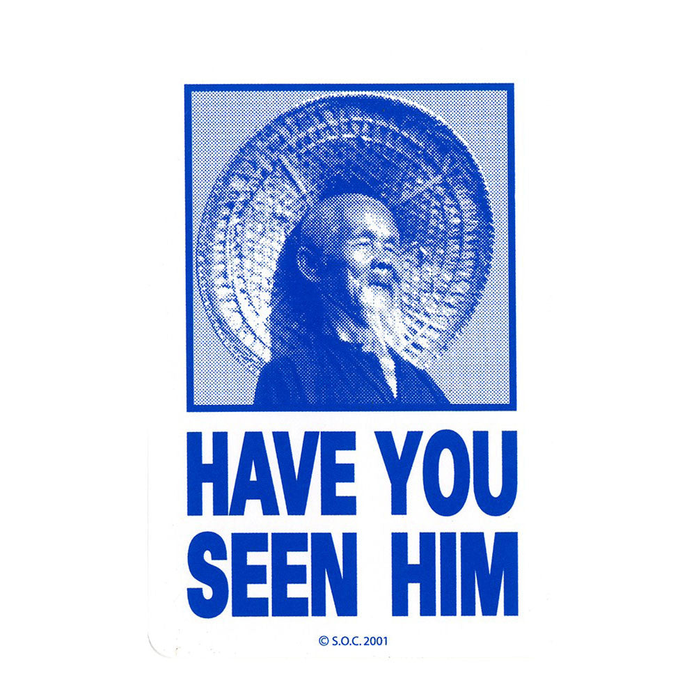 Powell Peralta Have You Seen Him - Assorted - Sticker