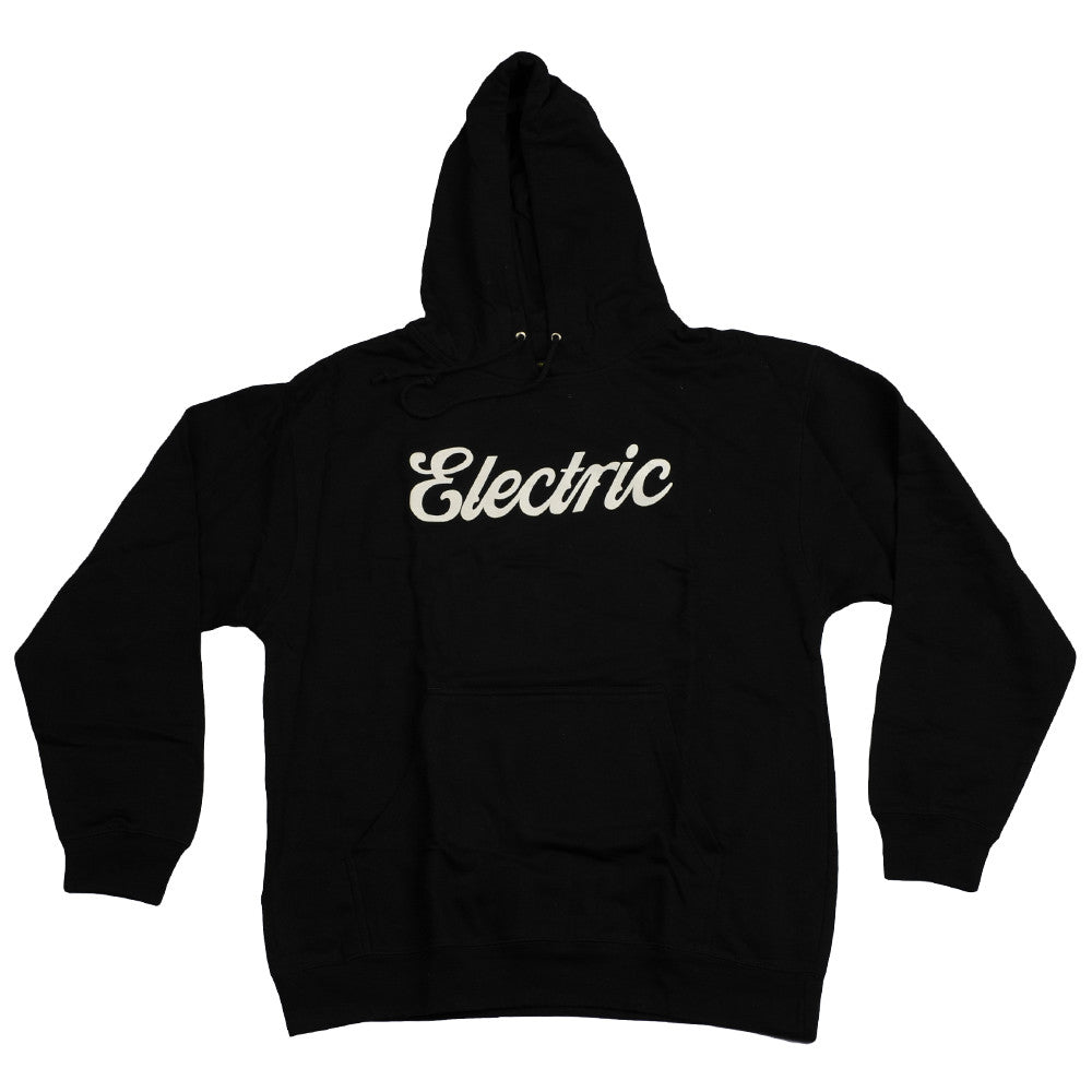 Electric Visiual Cursive Pullover - Black - Mens Sweatshirt