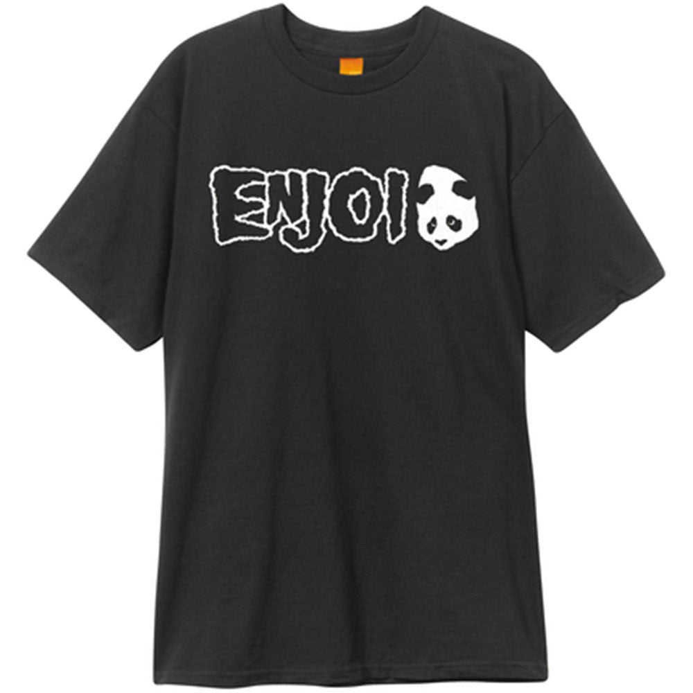 Enjoi Mature Doesn't Fit Premium S/S - Black - Men's T-Shirt
