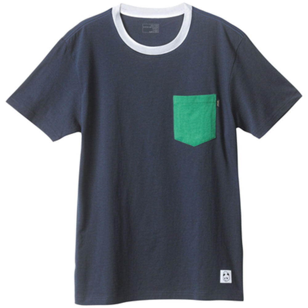 Enjoi Pockety Top S/S - Navy - Men's T-Shirt