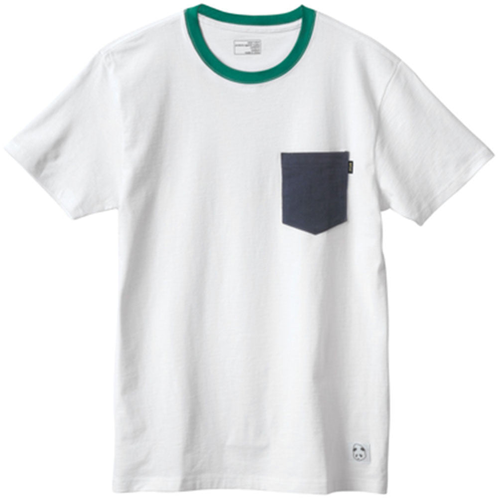 Enjoi Pockety Top S/S - White - Men's T-Shirt
