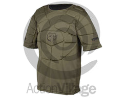 Tippmann Padded Short Sleeve Chest Protector - One Size Fits Most - Olive