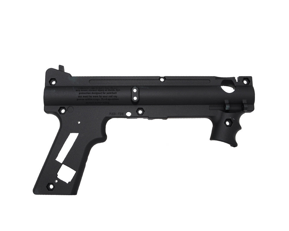 Tippmann 98 Platinum Series Black Nickel AC Receiver - Right Rear (TA02075)