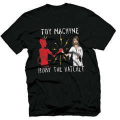Toy Machine Bury The Hatchet II - Black - Men's T-Shirt