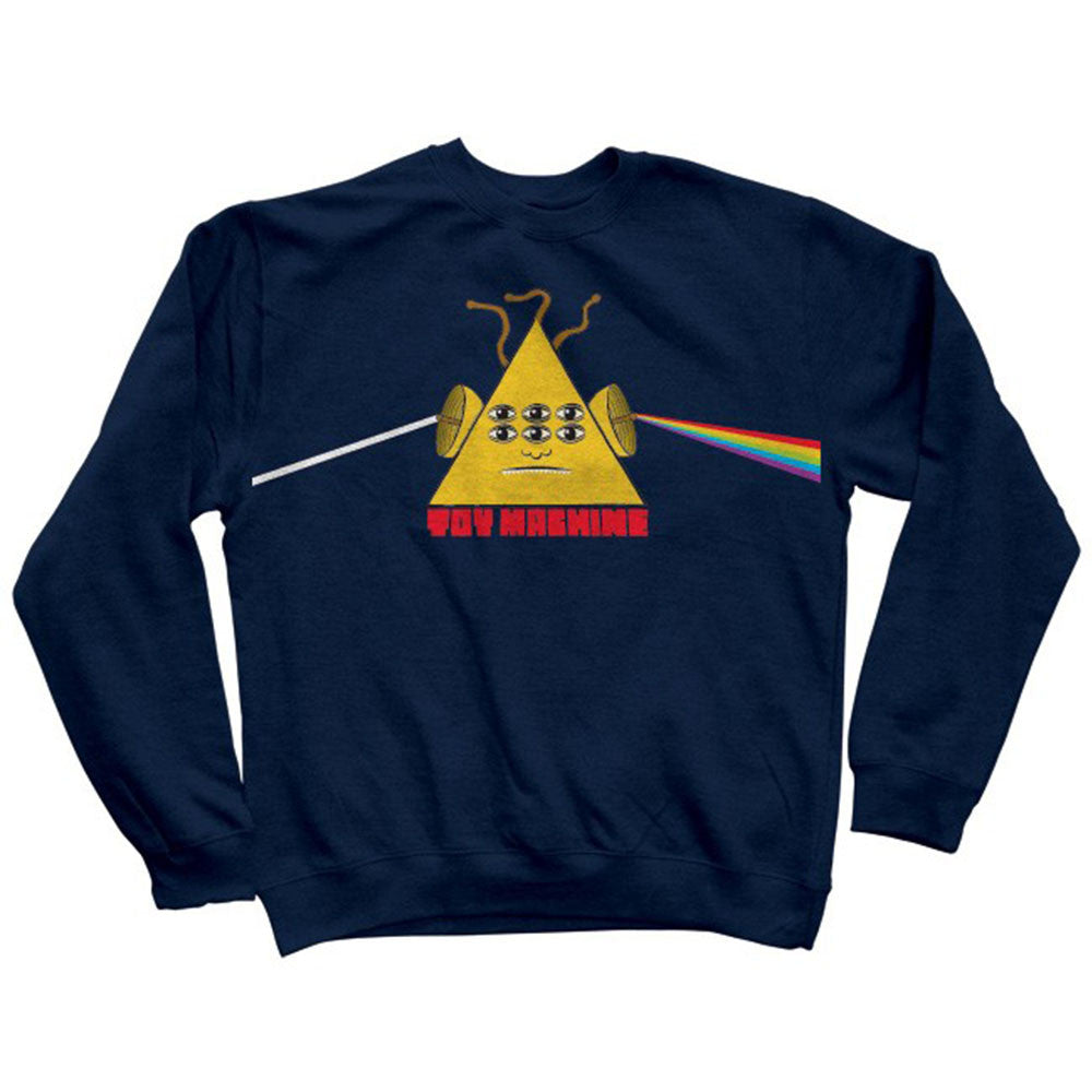 Toy Machine Darkside Crew - Navy - Men's Sweatshirt