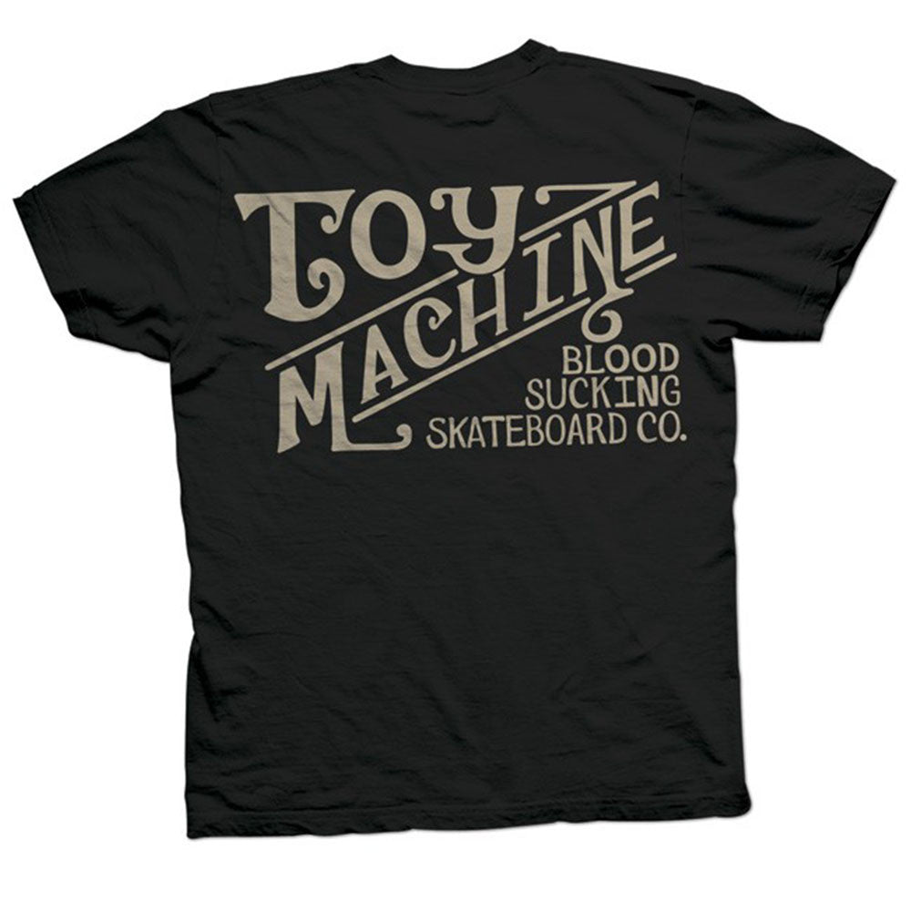 Toy Machine Joes Style - Black - Men's T-Shirt