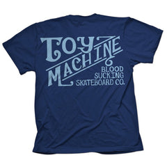 Toy Machine Joes Style - Navy - Men's T-Shirt