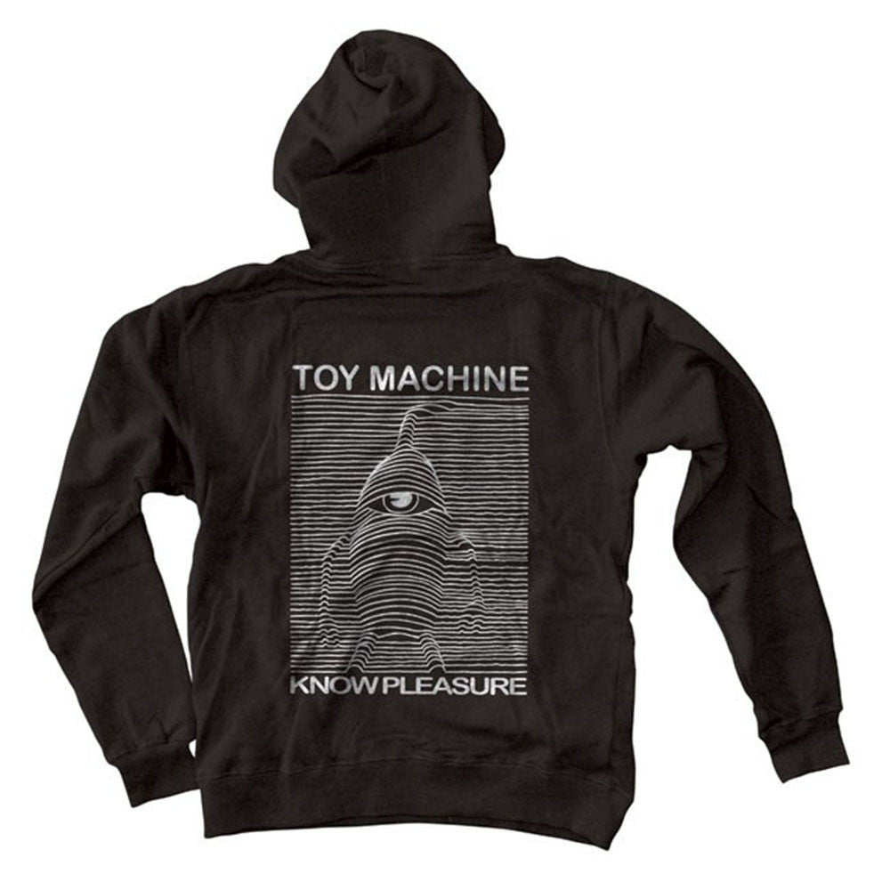 Toy Machine Toy Division Zip-Up - Black - Men's Sweatshirt