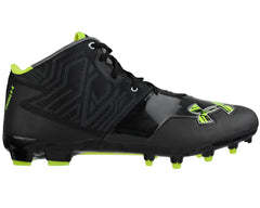 Under Armour Banshee Mid MC Paintball Cleats - Black