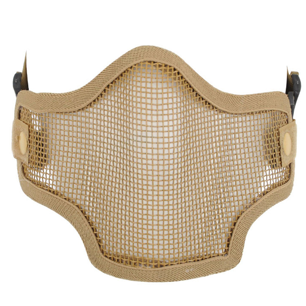 Valken 2G Wire Mesh Tactical Airsoft Mask - Tan