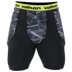 Valken Agility Padded Slide Shorts - Black