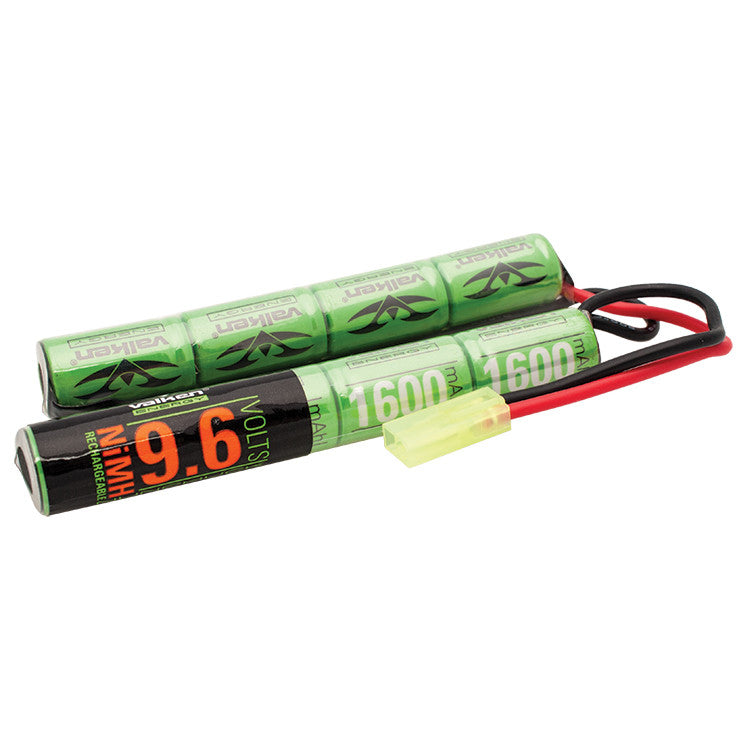 Valken Energy 9.6v NiMH 1600mAh Nunchuck Airsoft Battery