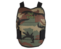 Valken V-Tac Reversible Chest Protector - Woodland/Black