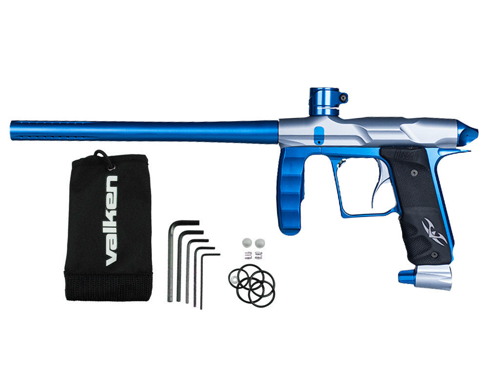 Valken Proton Paintball Gun - LE Grey/Electric Blue