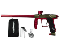 Valken Proton Paintball Gun - LE Olive/Red