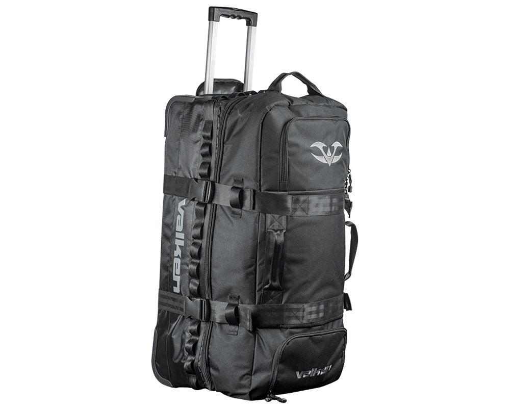 Valken Paintball Rolling Gear Bag - Black