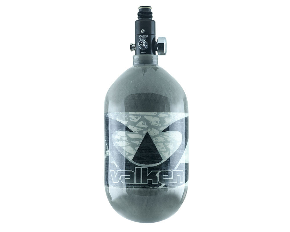 Valken 68/4500 Compressed Air Paintball Tank - Cool Grey