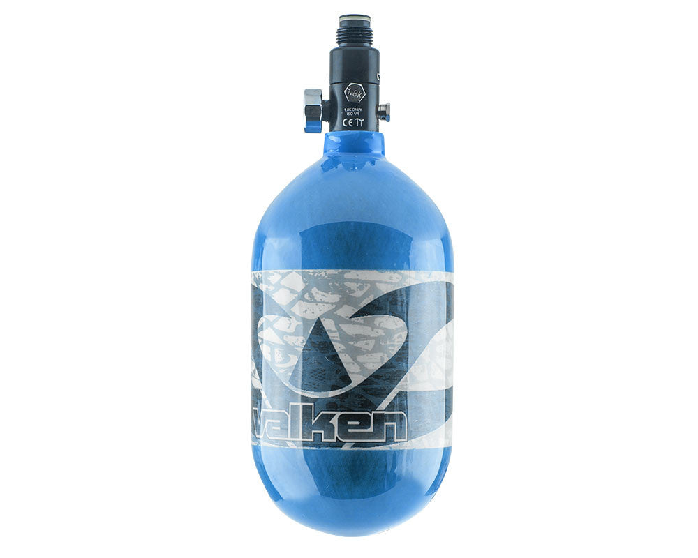 Valken 68/4500 Compressed Air Paintball Tank - Navy Blue
