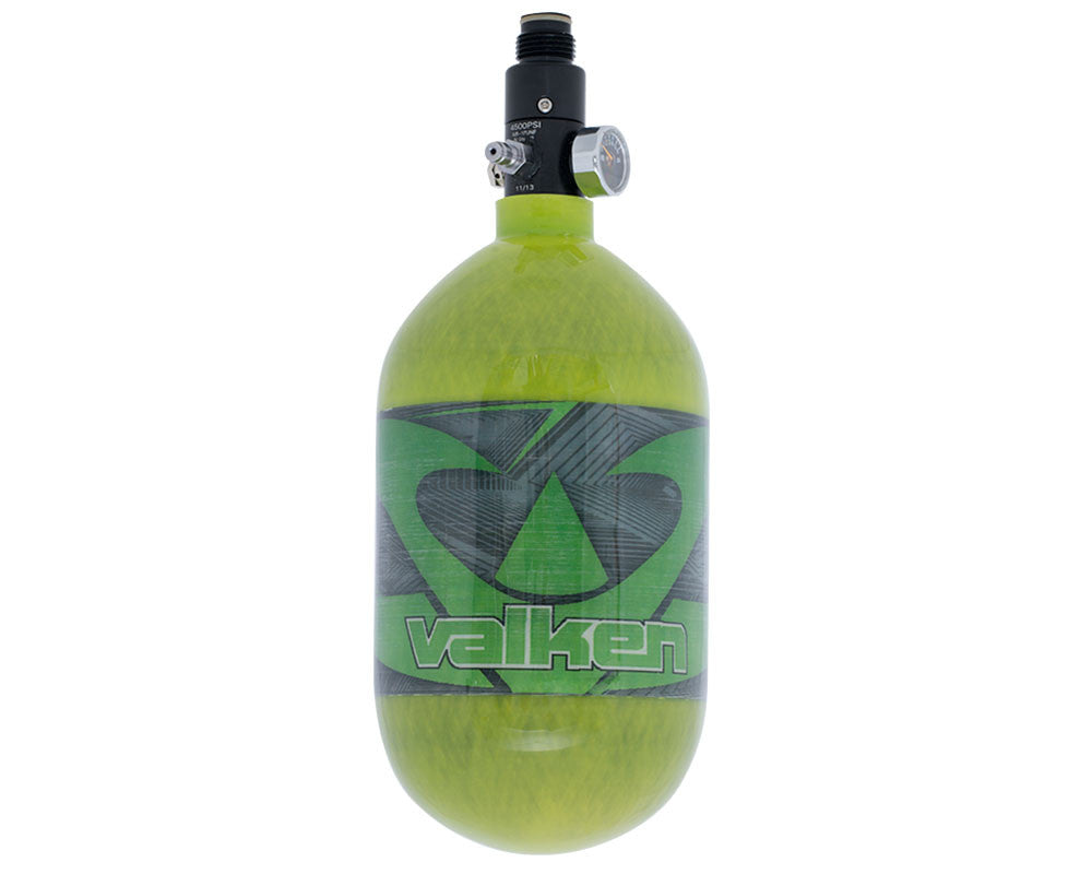 Valken 68/4500 Compressed Air Paintball Tank - Redemption Green