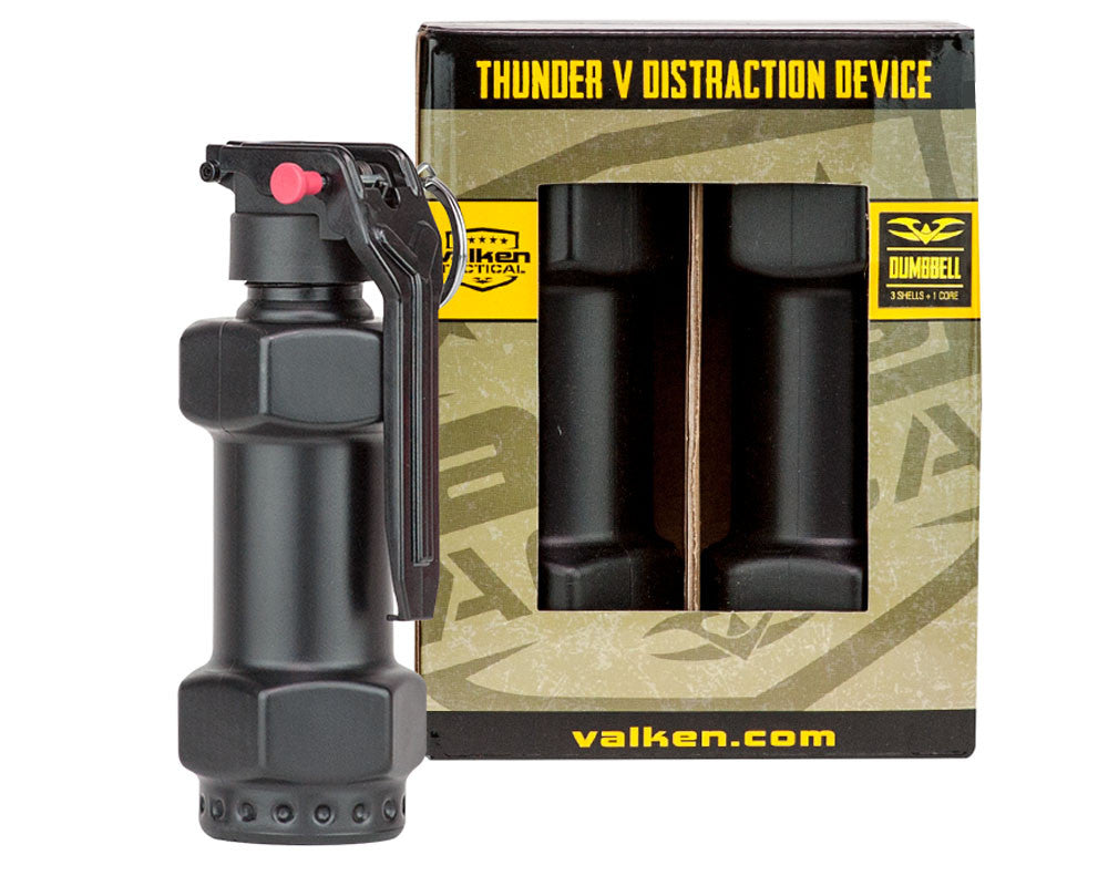 Valken Thunder V 3 Pack w/ Core Sound Grenades - Dumbell