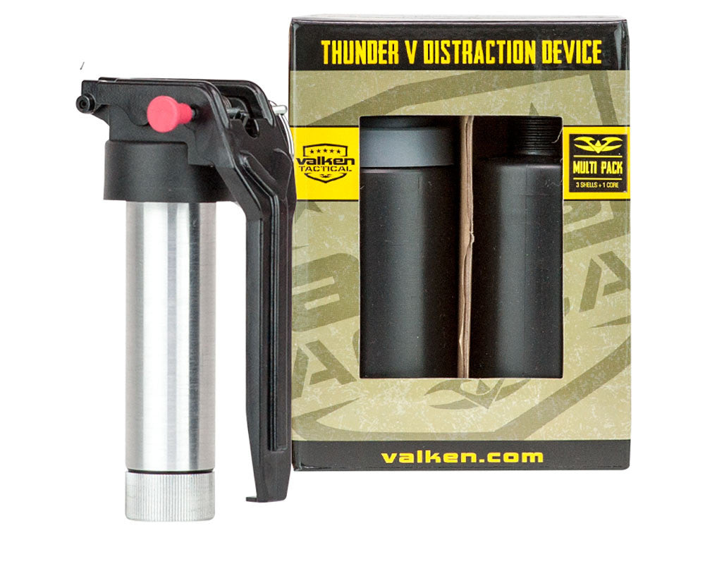 Valken Thunder V 3 Pack w/ Core Sound Grenades - Multi