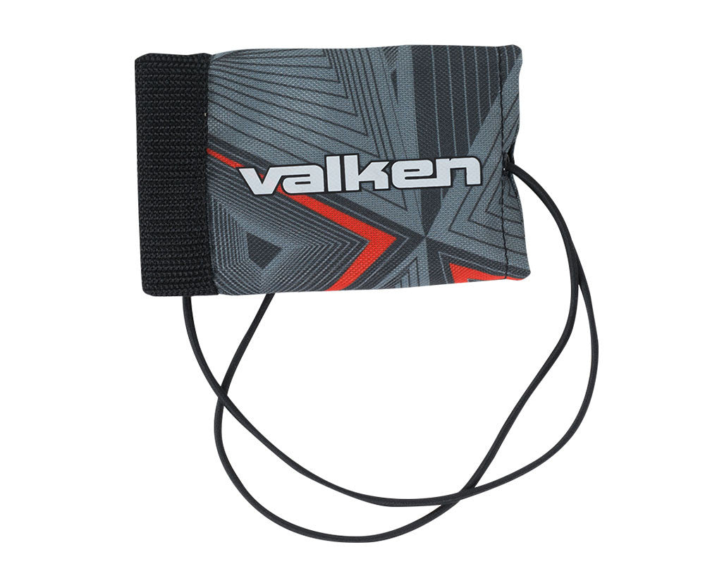 2015 Valken Redemption Vexagon Barrel Cover - Red/Grey