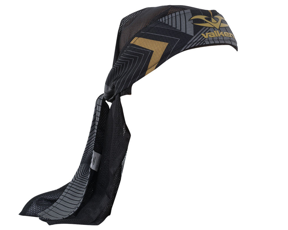 2015 Valken Redemption Vexagon Paintball Headwrap - Gold/Black
