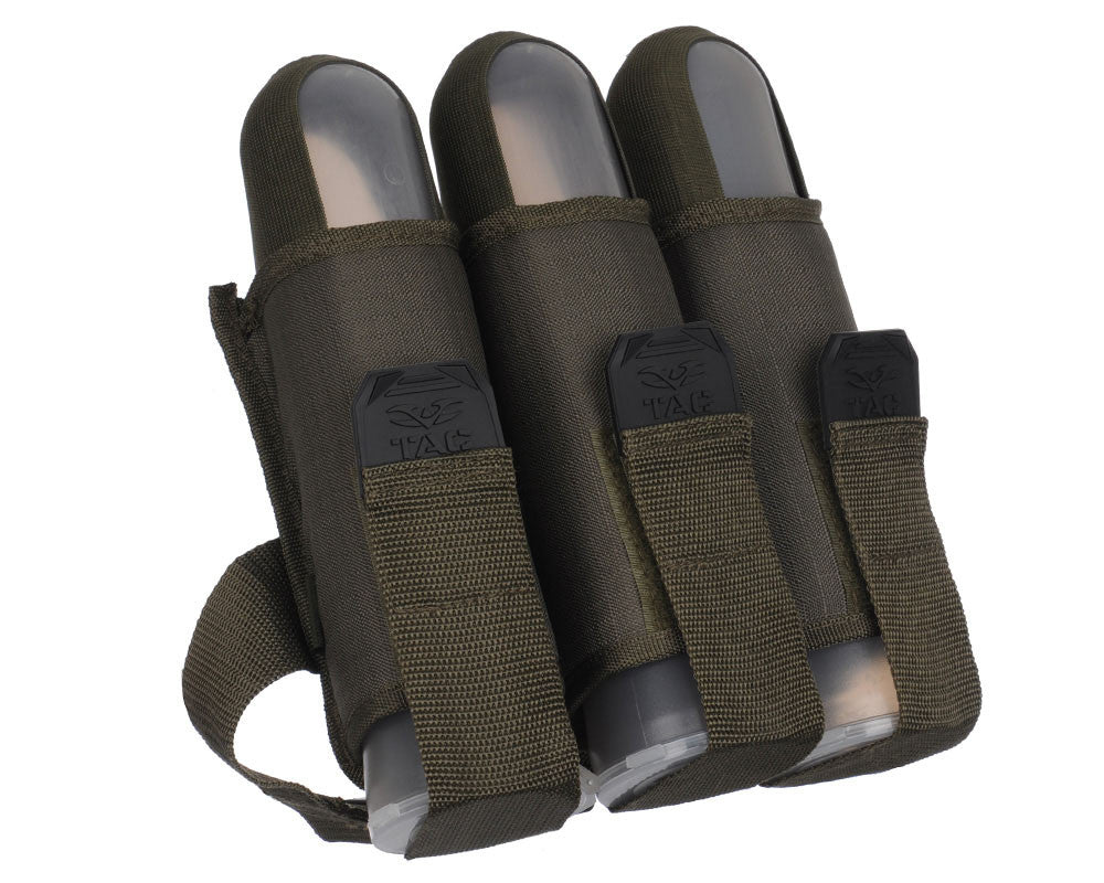 Valken V-Tac 3 Pod Web Belt Paintball Harness - Olive