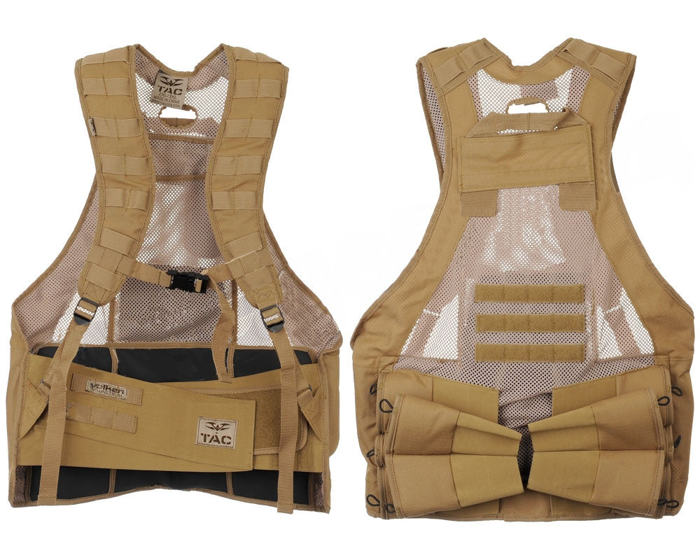 Valken V-Tac Bravo Paintball Vest - Tan