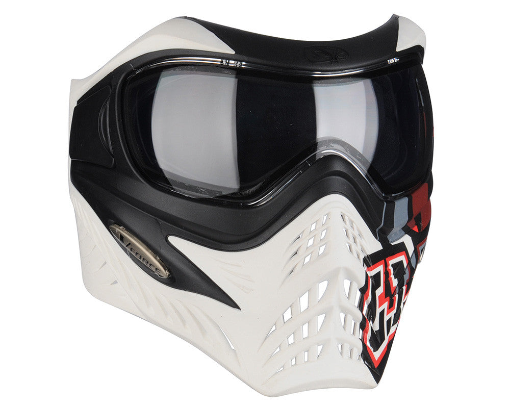 V-Force Grill Paintball Mask - SE GI Logo White