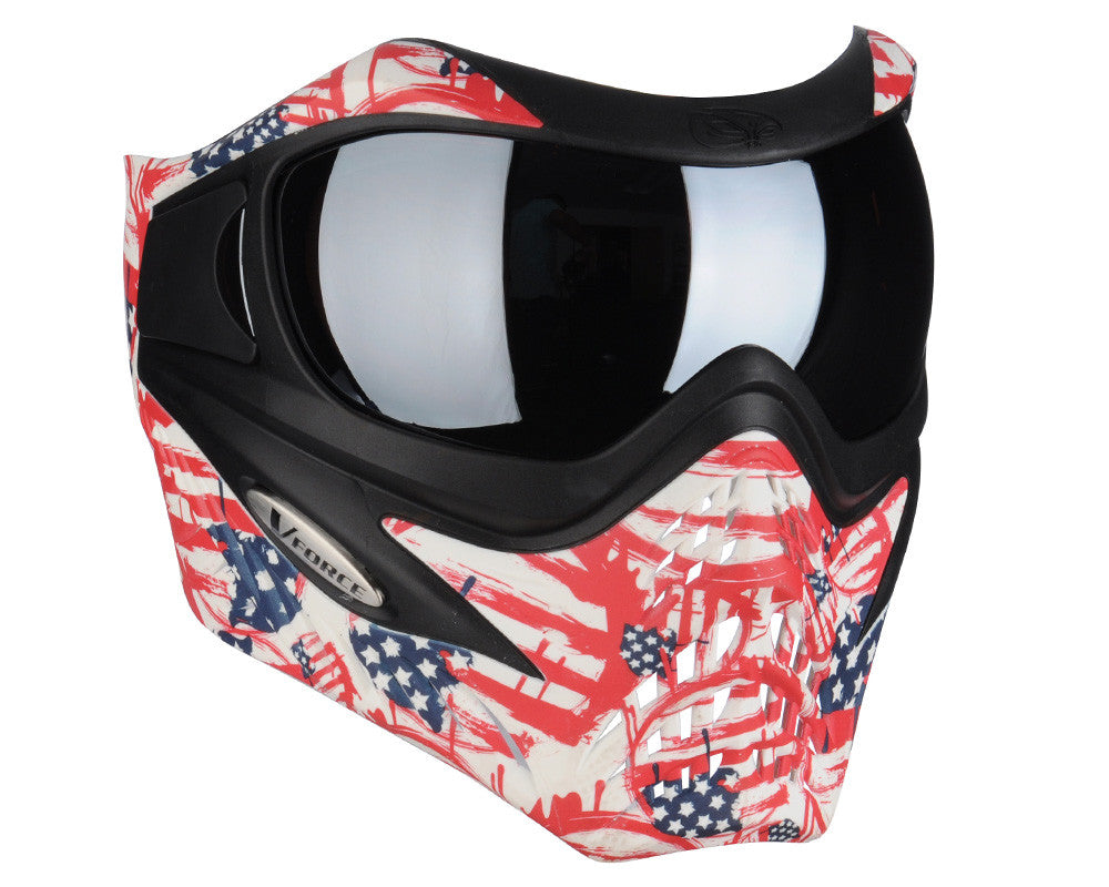 V-Force Grill Paintball Mask - SE Patriot