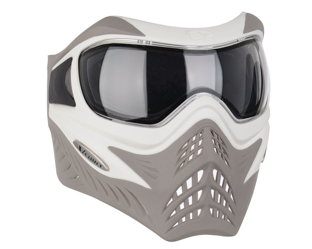 V-Force Grill Paintball Mask - SE White/Taupe