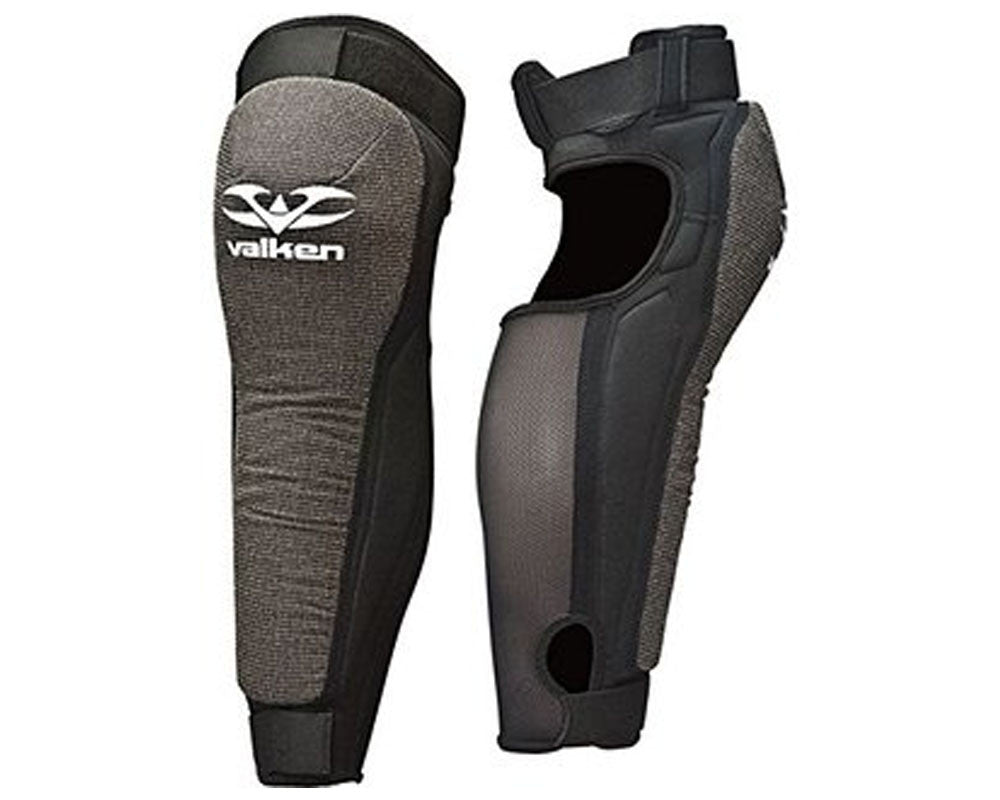 Valken Paintball Impact Knee/Shin Pads - Black