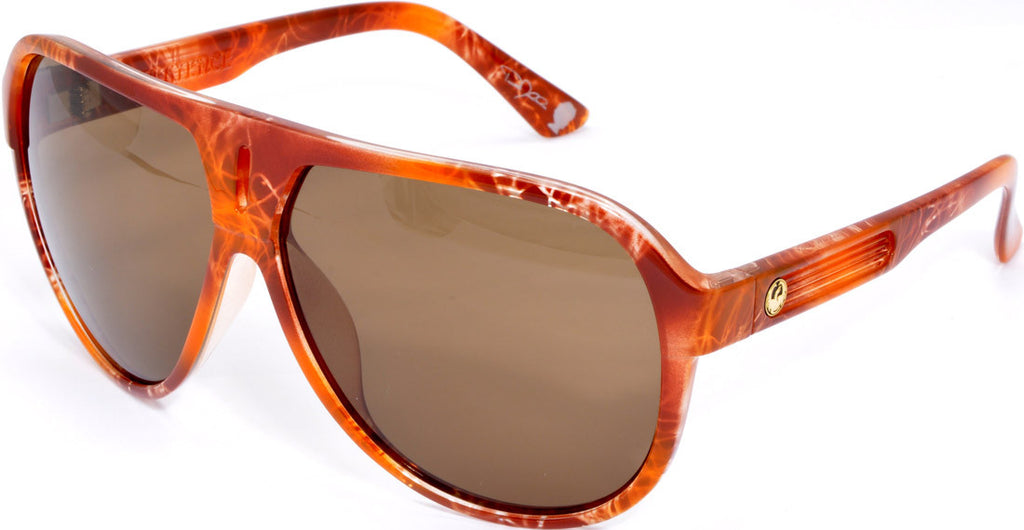 Dragon Experience Mellow - Animal Print - Mens Sunglasses
