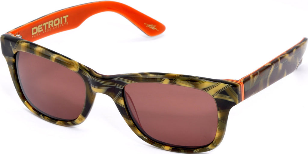 Electric Visual Detroit - Camo - Mens Sunglasses