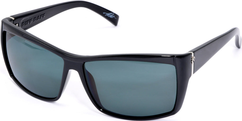 Electric Visual Riff Raff - Black - Mens Sunglasses