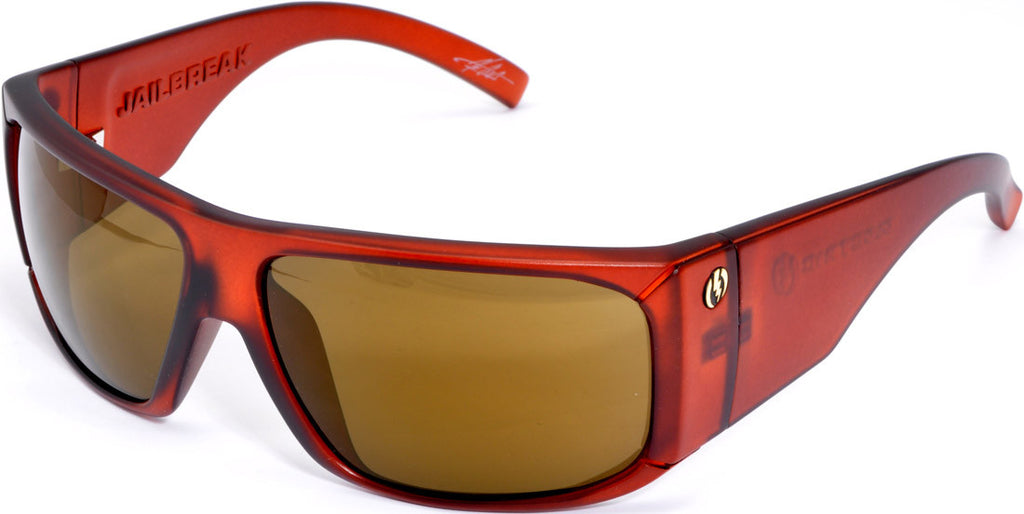 Electric Visual Jailbreak - Orange - Mens Sunglasses