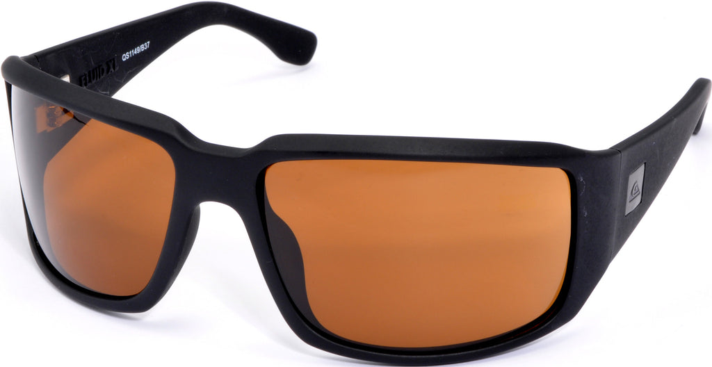 Quiksilver Fluid XL - Black - Mens Sunglasses