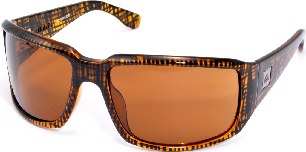 Quiksilver Fluid XL - Brown - Mens Sunglasses