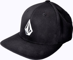 Volcom Full Stone XFit Hat - Black - Men's Hat