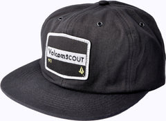 Volcom Mission Hat Strapback - Black - Men's Hat