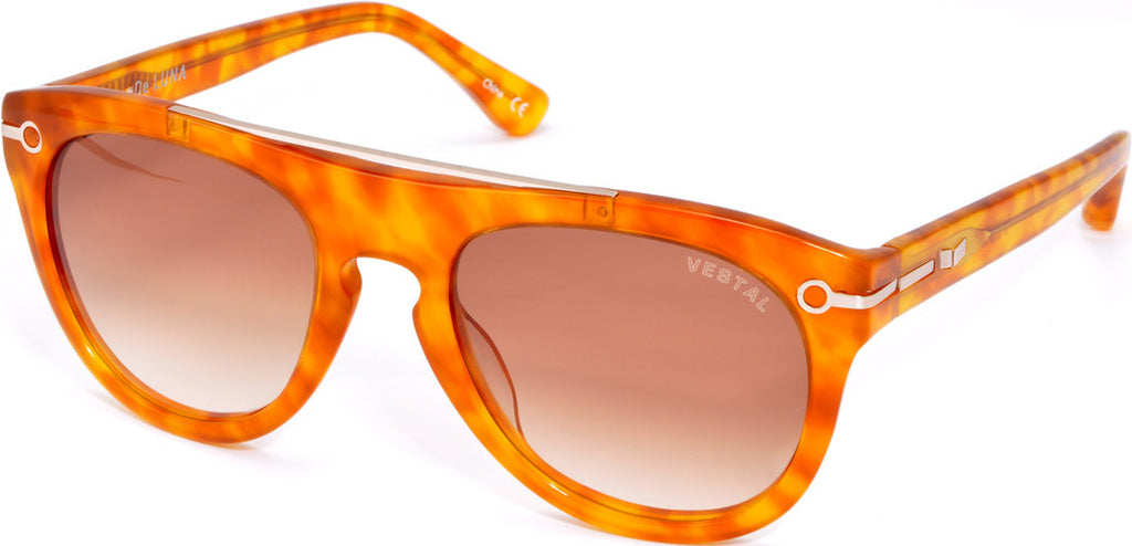 Vestal De Luna - Honey Tortoise/Light Brown - Sunglasses