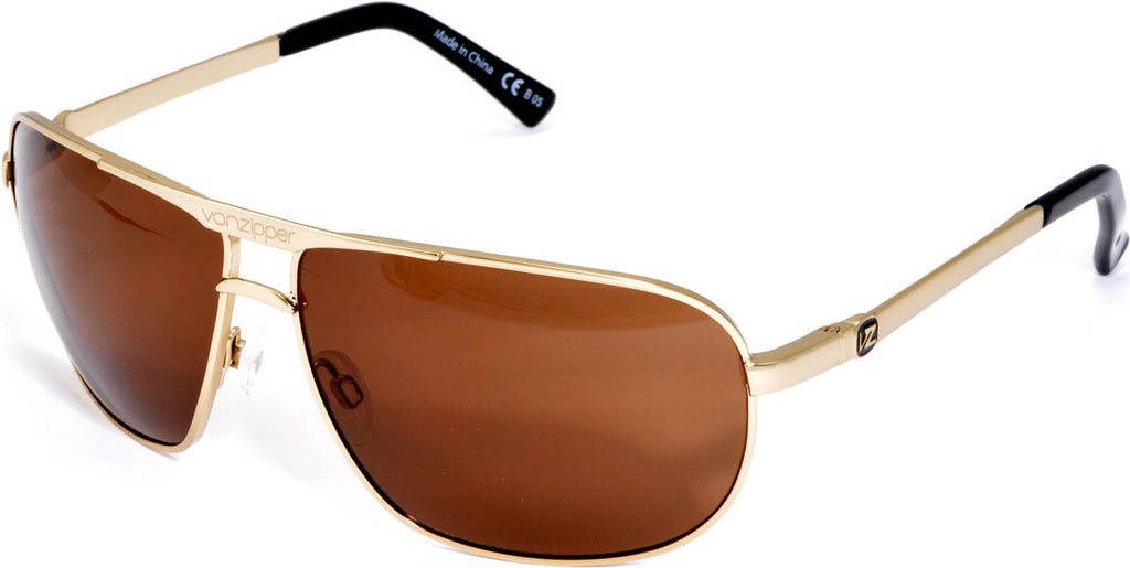 Von Zipper Skitch - Gold - Mens Sunglasses
