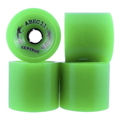 Abec 11 Centrax - Green - 77mm 81a - Skateboard Wheels (Set of 4)