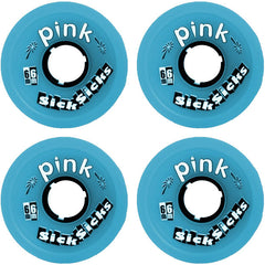 Abec 11 Sick Sicks - Blue - 66mm 81a - Skateboard Wheels (Set of 4)
