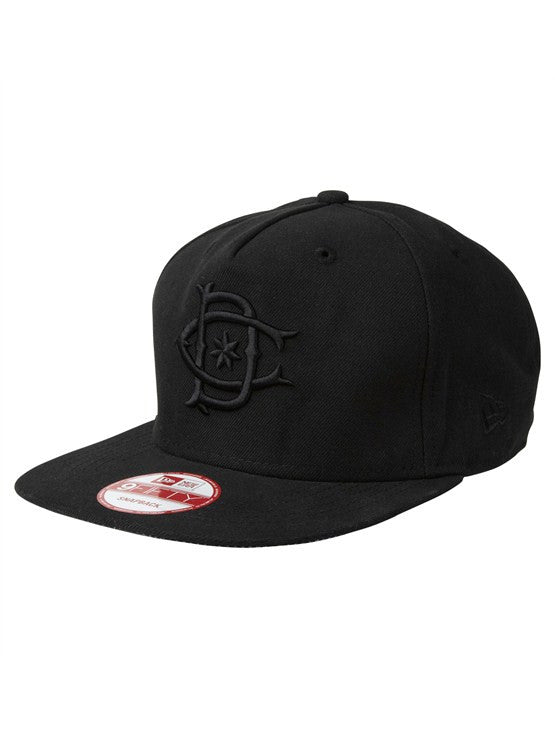 DC Tonedown Snapback - Black - Men's Hat