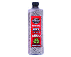 Valken Tactical .20g Airsoft BB's - 5000 - White